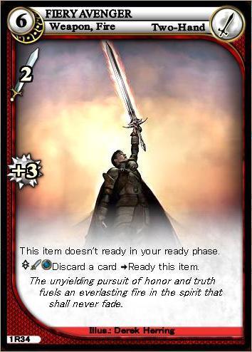 Fiery Avenger: ふえあの図書館 (Everquest II Monk)
